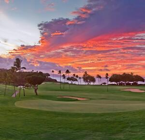 Royal Ka'anapali Hawaiian sunset