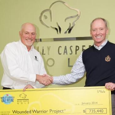 World's Largest Golf Outing donating $735,440 to Wounded Warrior Project in 2013