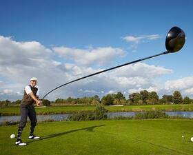 World's longest golf club