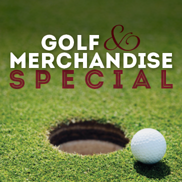 Golf & Merchandise Special at Sylvan Glen