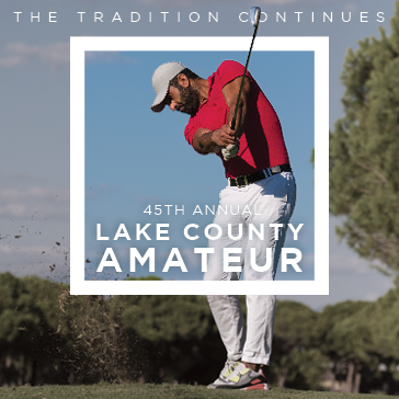 Lake County Amateur Web Banner at Lake Bluff Golf Club