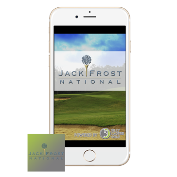 Jack Frost Golf App web banners