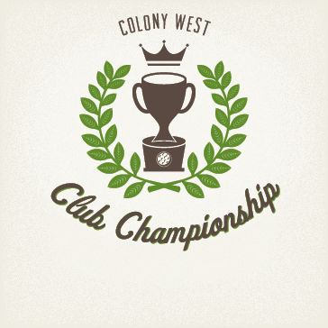 Colony West Club Championship golf tournament for loyalty card holders