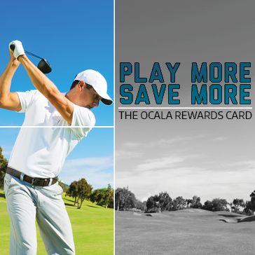 The Rewards Card at Ocala Golf Club in Ocala, FL