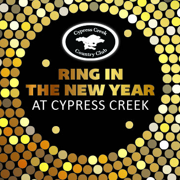 New Years Eve Party at the Tru Shots Bar and Grille located at Cypress Creek Country Club in Boynton Beach FL