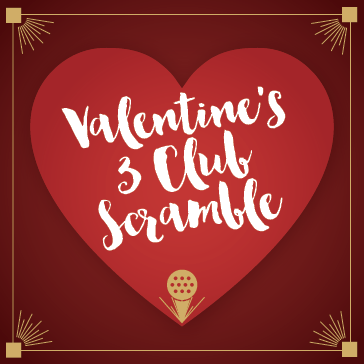 Valentines 3 Club Scramble