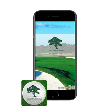 Indian River Preserve Golf App Phone web banner
