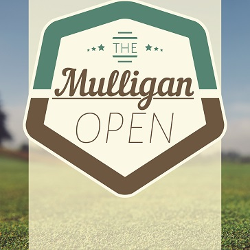 Mulligan Open Web banner for event at Forest Greens Golf