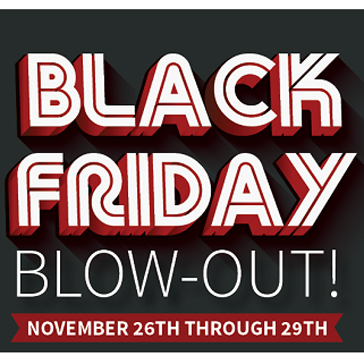 2015 Black Friday Sale at Golf Course
