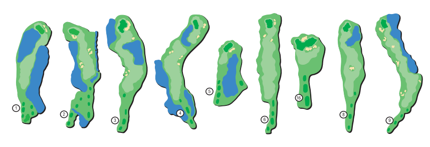 cove greens layout