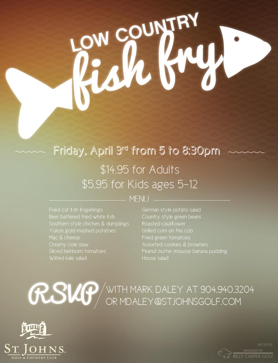 Fish Fry 4/3/15