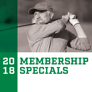 2018 Golf Membership Specials