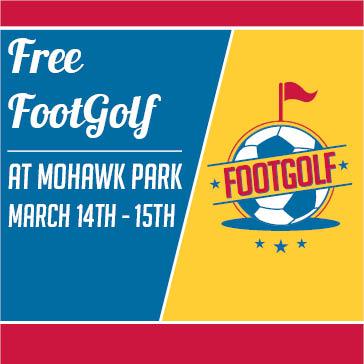 Free Footgolf at Tulsa Golf Mohawk Park
