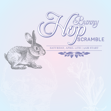 Bunny Hop Scramble event at Lincoln Hills for Easter