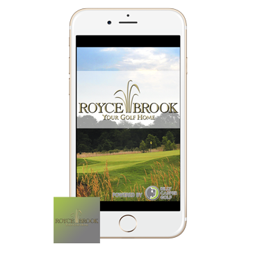 Royce Brook Golf App web banners