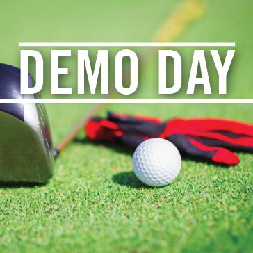 demo day golf equipment merchandise