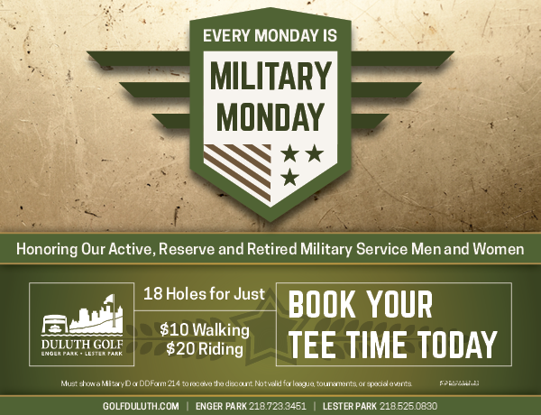 Military Monday Email