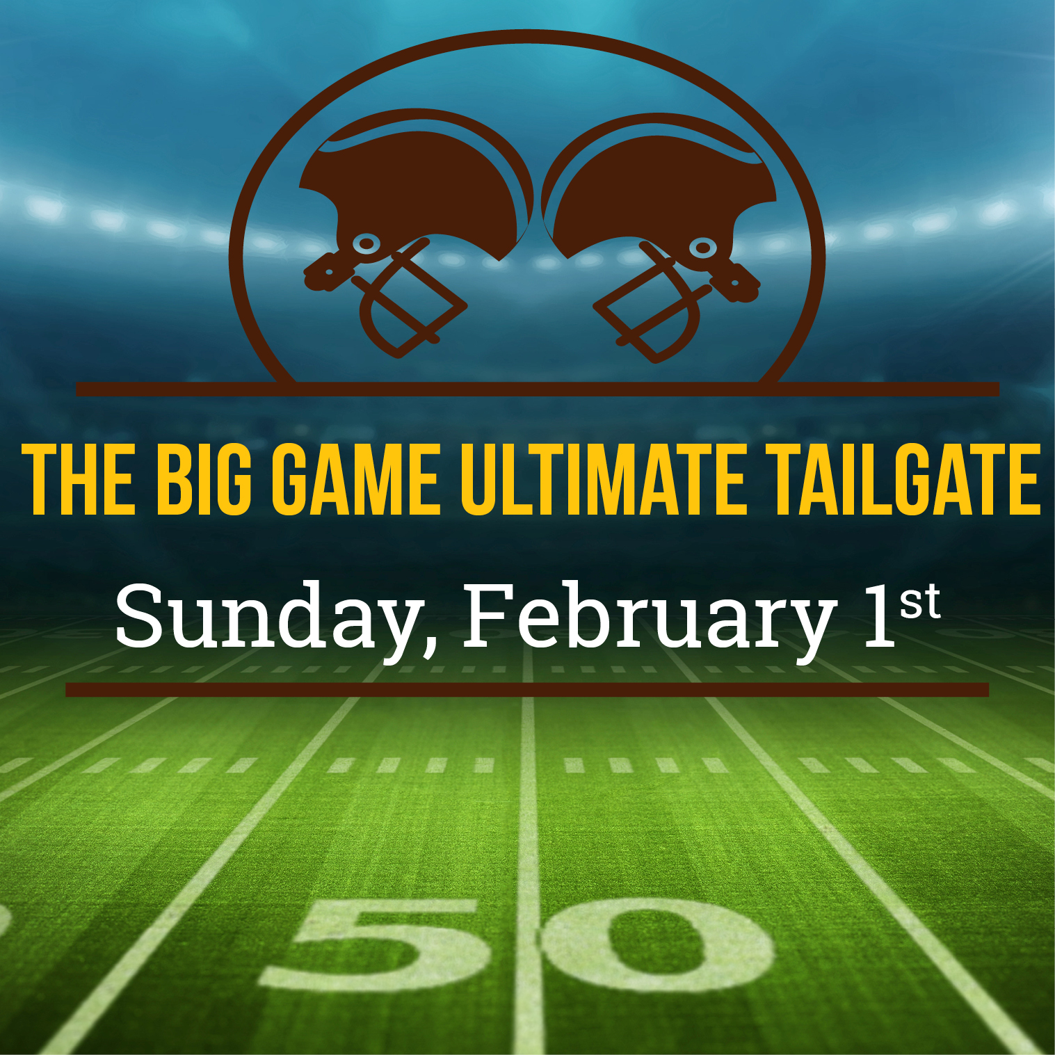 Superbowl Party event at Brewton Country Club Alabama
