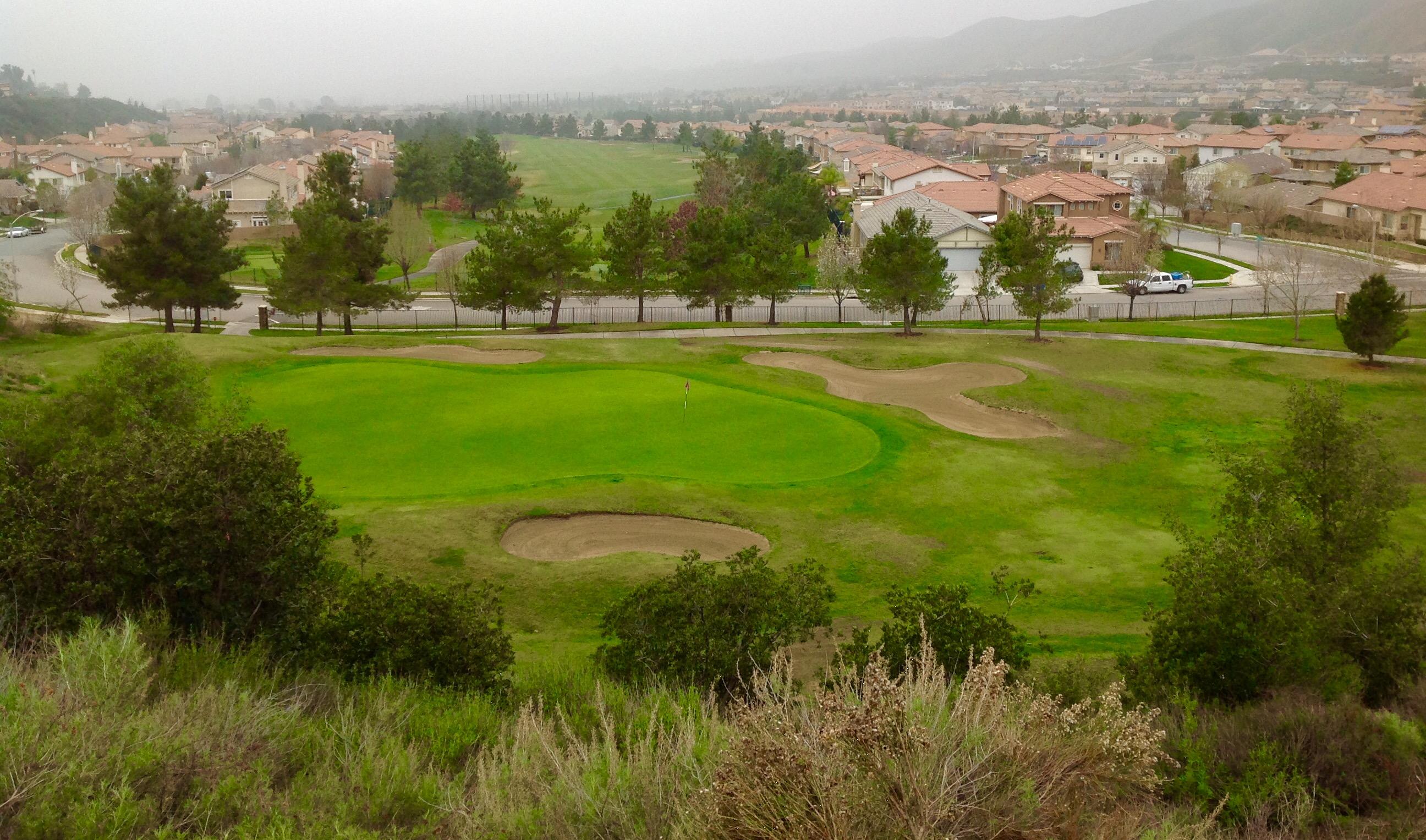 Yucaipa Valley Golf Club - Hole 16th