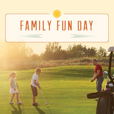 Family Fun Day at Orchard Valley Golf Course