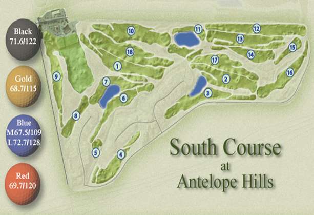 AH South Course Map