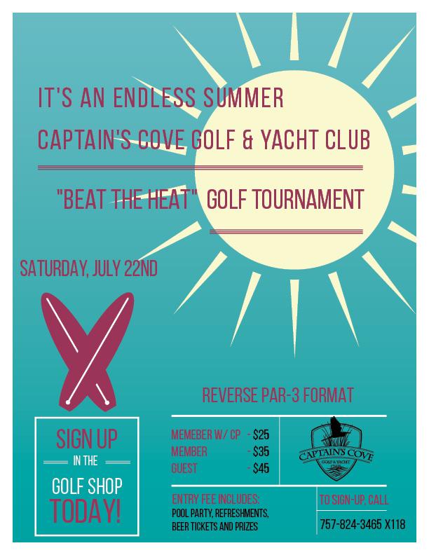 """Beat The Heat"" Golf Tournament"