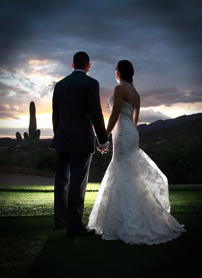 Weddings Banquets Bride Groom - Arizona National Golf Club