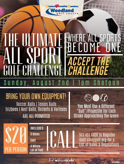 The Ultimate All sport Golf Challenge