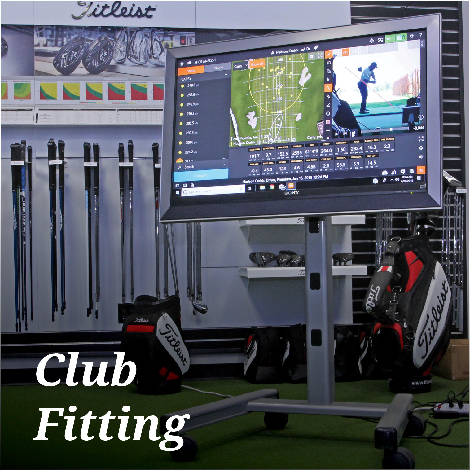 Club fitting