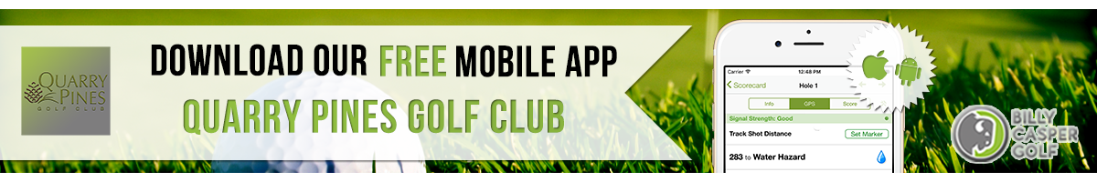 Quarry Pines Golf App
