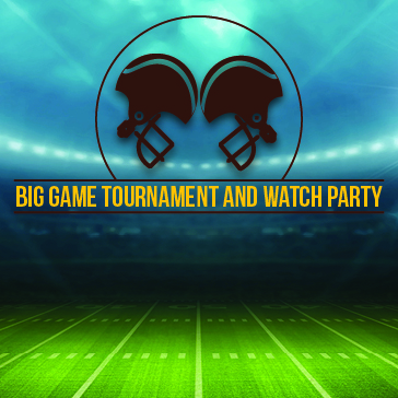 Superbowl Party web banner at St Johns Golf & Country club Florida