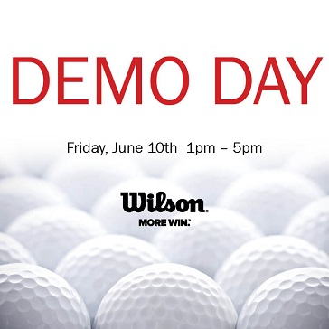 Wilson Demo Day at Compass Pointe Golf Course