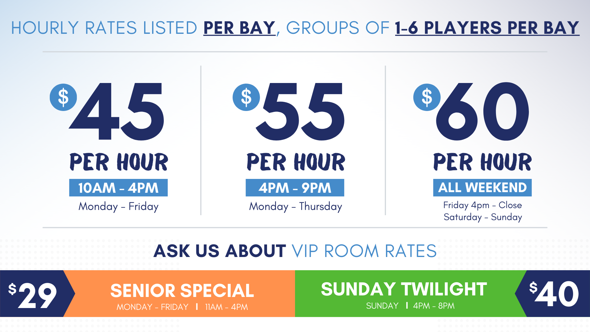 June 2020 Bay Summer Rates at ZSTRICT