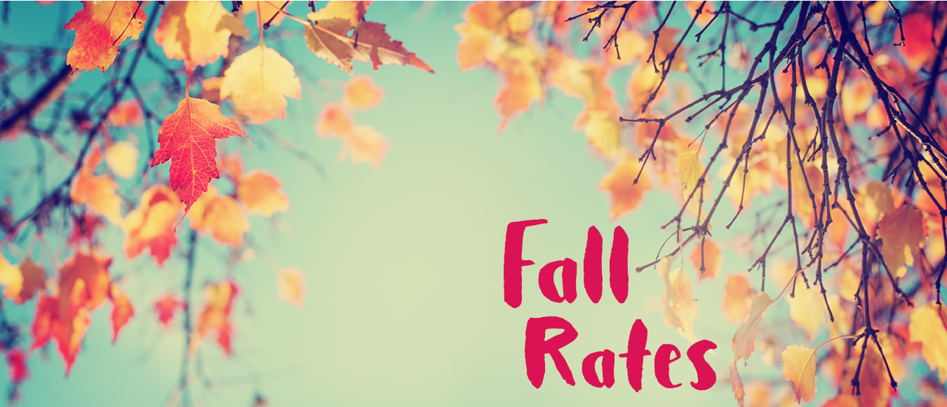 Fall Rates, Fall Leaves at golf course