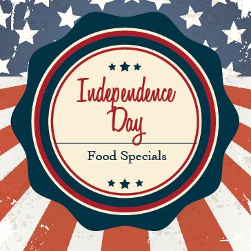 4th of July Food Specials at Billy Casper Golf