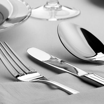 Dining Photos - Table, Fork, Knife, Wine Glass