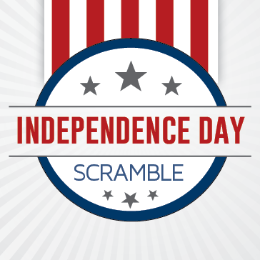 Independence Day Scramble  - Golf Event