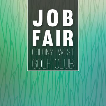 Job Fair at Colony West golf club in Tamarac, FL