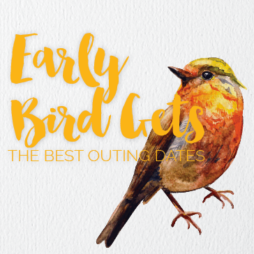 Early Birds get the best golf outing dates