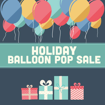 Holiday Balloon Pop Web Banner364