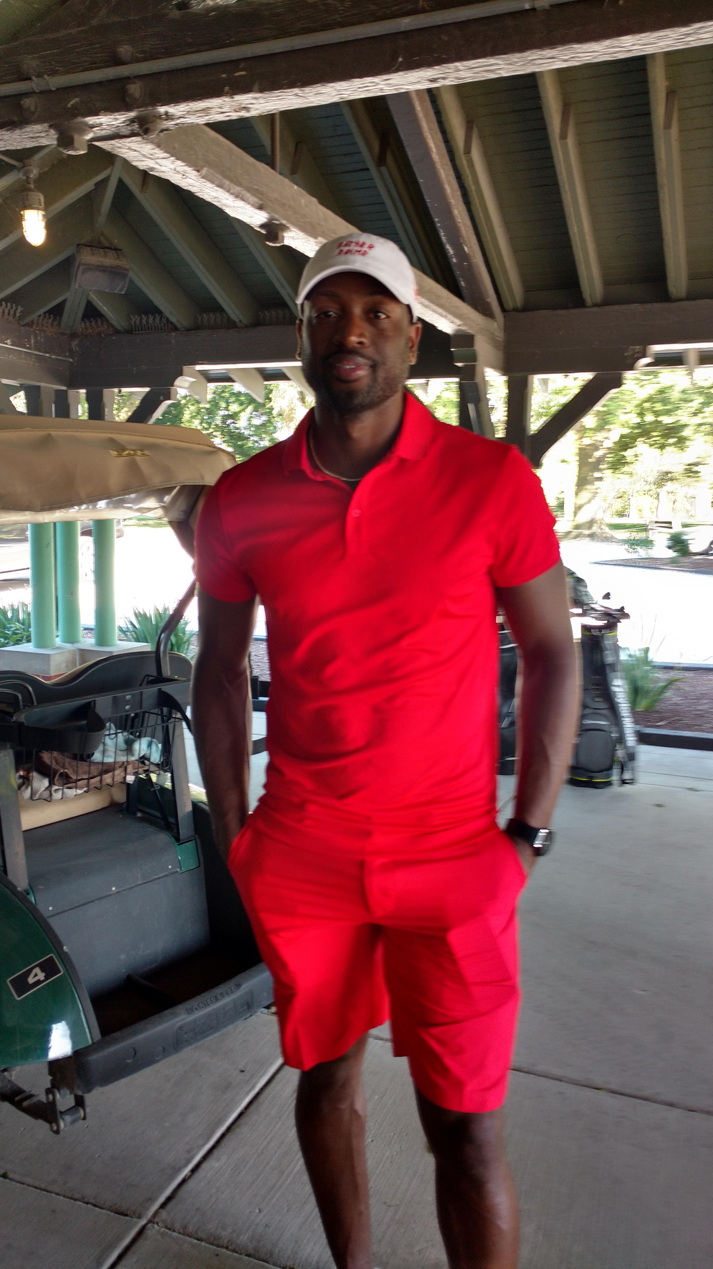 Dwayne Wade Visits Jackson Park