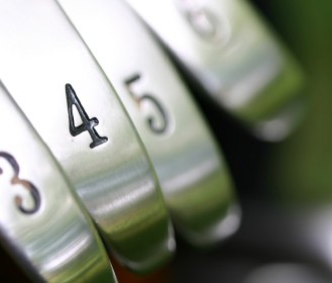 golf clubs numbers