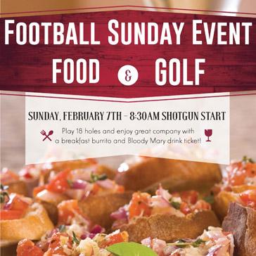 Super Bowl Shotgun event at hiddenbrooke golf club
