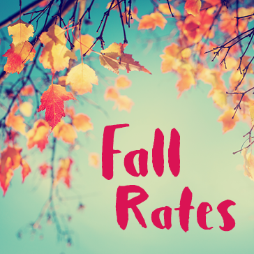 Fall Golf Rates, Fall Leaves