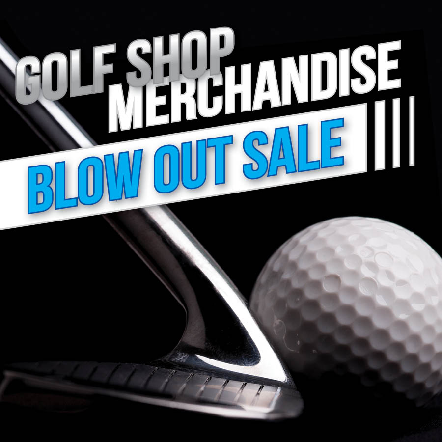 Golf Shop Sale