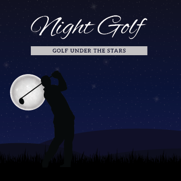 Night Golf at a Billy Casper Golf Course