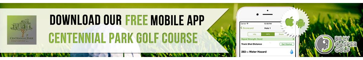 Centennial Park Golf App