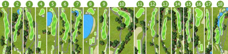 Raintree Golf Scorecard
