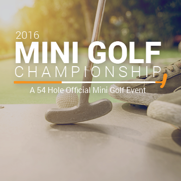Mini Golf Championship at Diversey Driving Range and Mini Golf Course in Chicago, Illinois