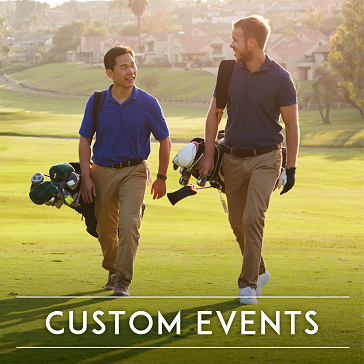 custom golf events